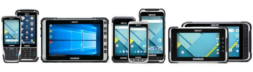 Handheld rugged PDA and tablets